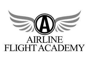 airline flight academy logo