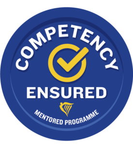 competency ensured mentored programme logo